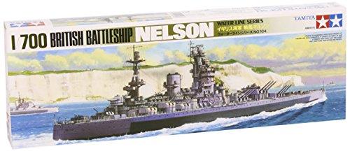 Tamiya Models Nelson Battleship (Teak Long Model)