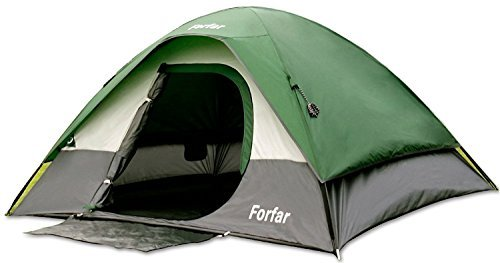 Forfar Camping Tent Family Tent 3 Persons 3 Seasons Waterproof Windproof Outdoor Camping Family Tent