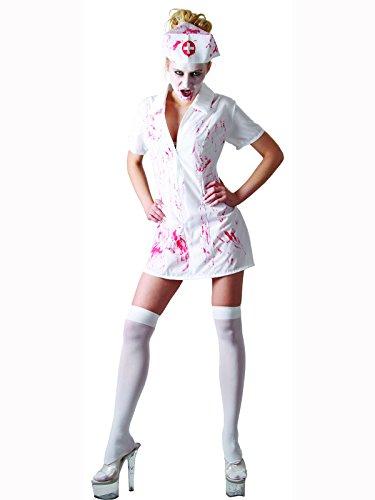 Funtastik Women's Killer Nurse Costume Women: 10-12