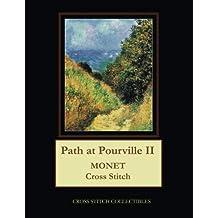 Path at Pourville II: Monet Cross Stitch Pattern
