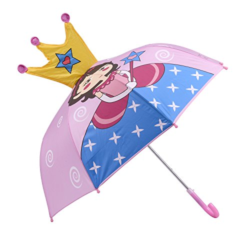 Umbrella Princess (Micaddy Kidorable Princess Pop up Umbrella for Kid with Safety Open and Close by Age 3-7)