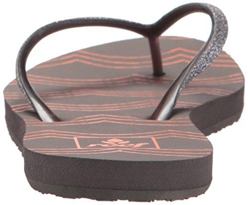 Der Stargazer der Riff-Frauen druckt Sandale Zinnwellen