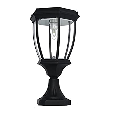 Large Outdoor Solar Powered LED Light Lamp
