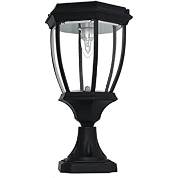 Amazon.com : Gama Sonic Pagoda Solar Outdoor LED Light