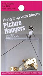 Picture Hangers W/Super Nail 4/Pkg-Up To 20lb