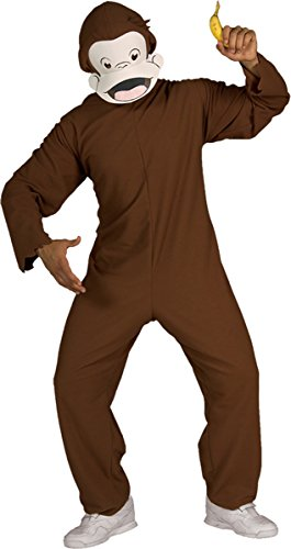 Morris Costumes Men's Curious George Costume, 44