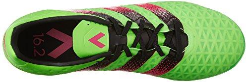 adidas Performance Herren Ace 16.2 FG / AG Fußballschuh Shock Green / Shock Pink / Schwarz