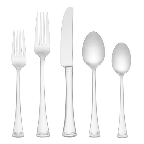 (Lenox Portola 5-Piece Stainless Place Setting, Service for 1)