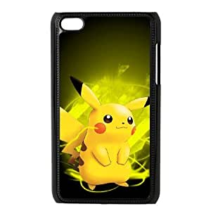 Ipod Touch 4 Phone Case Cover pikachu ( by one free one ) P64404
