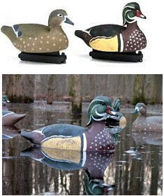 Avery Greenhead Gear GHG Life Size Wood Duck Decoy - 6 PACK - 73035