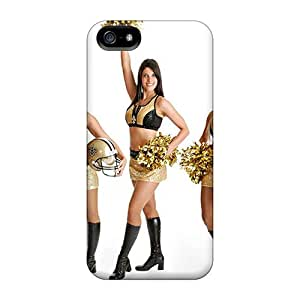 Tpu Fashionable Design New Orleans Saints Cheerleaderswimsuit 2013 Rugged Case Cover For Iphone 5/5s New