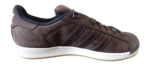 adidas originaux superstar baskets pour hommes S31641 Baskets Multicolore - marron/noir (Dbrown/Dbrown/Cblack S75539)
