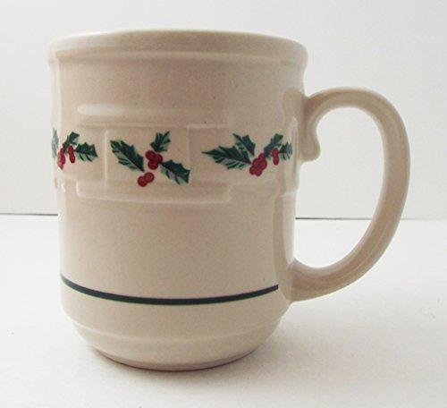 Longaberger Holly Mug Made in USA from Longaberger