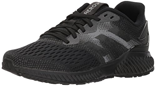 adidas Performance Women's Aerobounce w Running Shoe, Core Black/Core Black/Grey Four, 6.5 M US ()