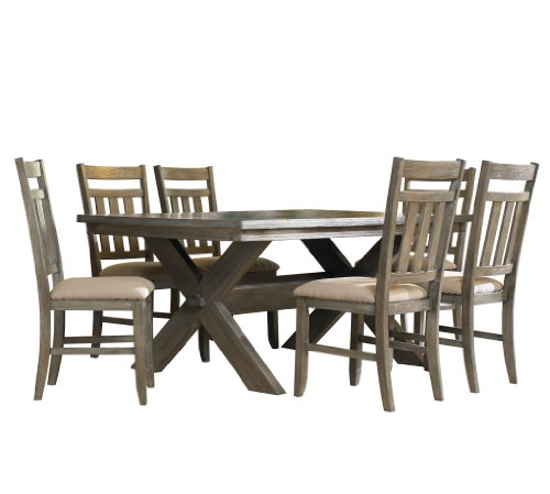 Powell Dining Table Set (Powell Turino Dining Set, 7-Piece)