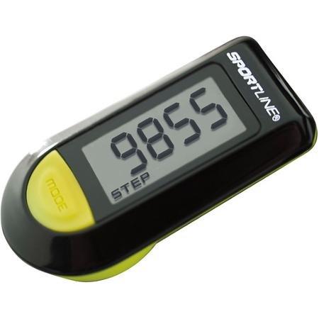 Sportline Digital Distance Tracker Pedometer, Black