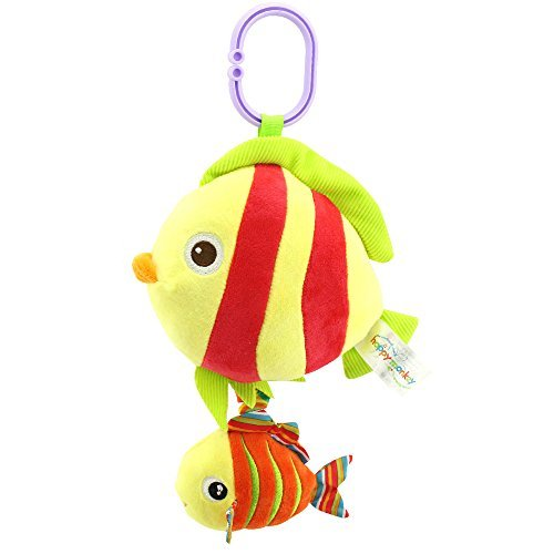 Music Sea Animal Plush Toys Baby Toddler Kids Doll stripe (Stripes Toddler Doll)