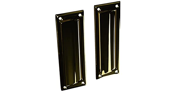 Deltana MS627CR003 8 7//8-Inch Mail Slot with Solid Brass Back Plate