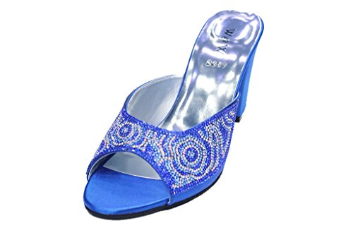 Wear & Walk UK - sin cordones mujer R Blue