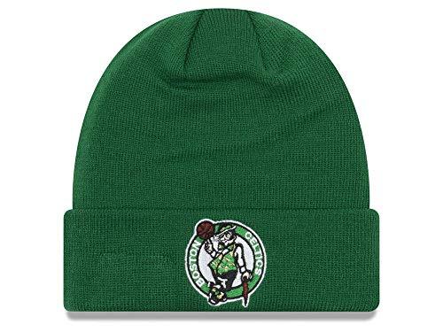 New Era Boston Celtics Green Cuff Breakaway Beanie Hat - NBA Cuffed Knit Toque Cap ()