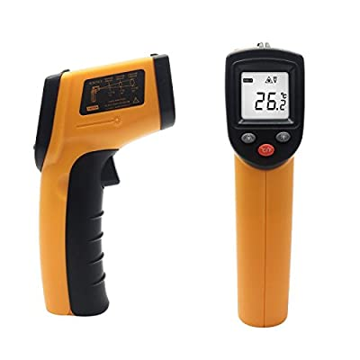 Infrared Thermometer, Temperature Gun, MONOLED Non-Contact Digital Laser Thermometer for Household Use Or Industrial Measurements T112
