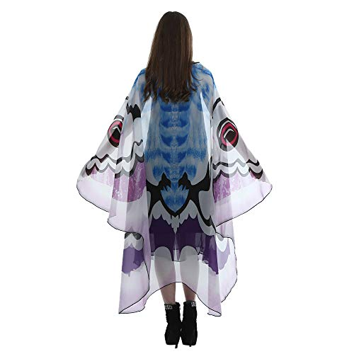 POQOQ Audlt Halloween Belly Dance Isis Wings Indian Dance Wing Fancy Isis Wings for Adult 185145CM Purple