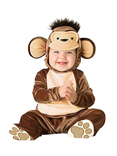 Mischievous Monkey Girls Costume from Express Fancy Dress , Color : Brown , Size : 18-24 Months by Express Fancy Dress -