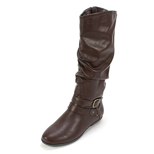 Seven Dials 'DIEM' Women's Boot, Dark Brown - 7.5 M