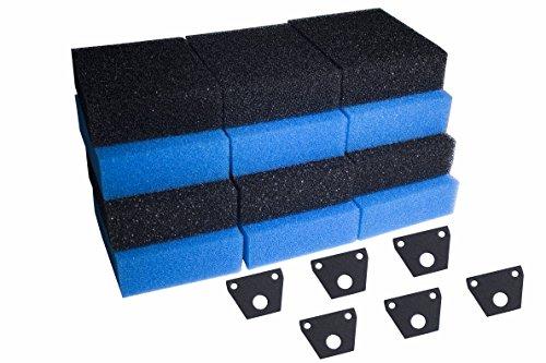LTWHOME Filter Foam Set fit forFish Mate 10000 15000 G-UV...