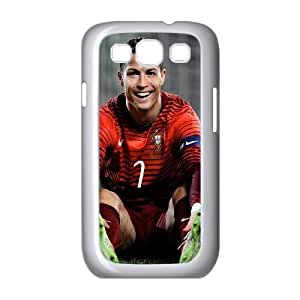 Samsung Galaxy S3 9300 Cell Phone Case White_Ronaldo CR7 Smile FY1459527