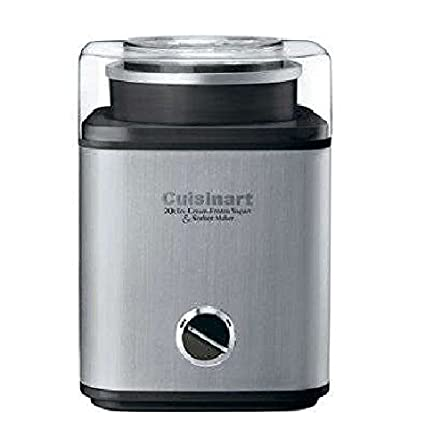 Cuisinart Pure Indulgence Ice Cream Maker, Chrome CIM-60SA