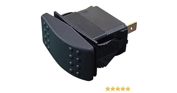 SPDT Sea-Dog Sea Dog 420213-1 Illuminating Contura Rocker Switch On//Off//On