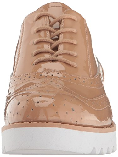 Nine West Womens När Patent Mode Sneaker Ljus Naturligt