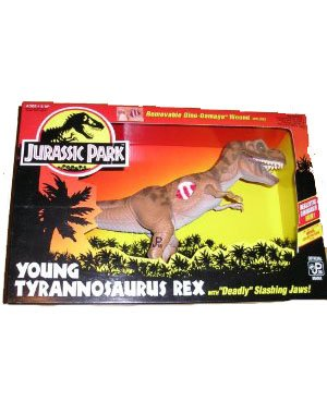 Jurassic Park Young Tyrannosaurus Rex Deadly Slashing ()