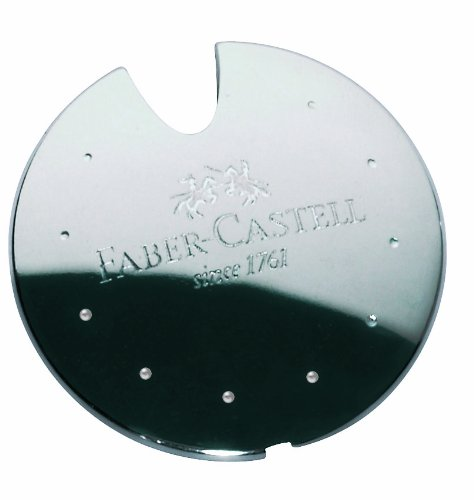 Faber-Castell Aluminium Pencil Sharpener UFO in Box Silver by Faber-Castell (Image #4)