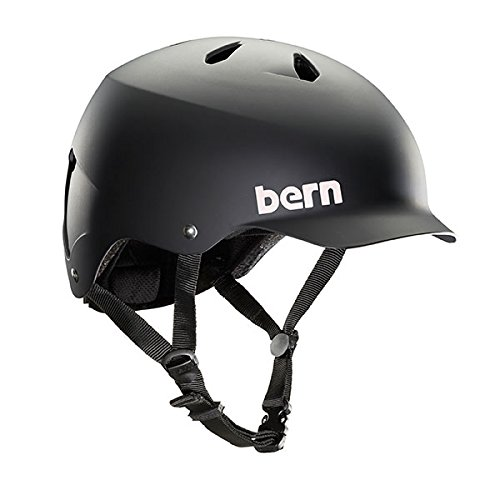 Bern Unlimited Watts EPS Summer Helmet, Matte Black, Large/X