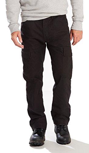 Levi's 34234 Men's Workwear 505 Cargo Pant, Black - (Levis Workwear)
