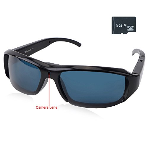 Toughsty™ 8GB 1920x1080P HD Wearable Video Glasses Hidden Eyewear Camera with Audio Recording for Outdoor Recreation