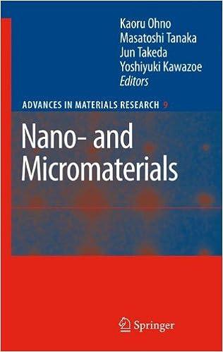 nano and micromaterials ohno kaoru tanaka masatoshi takeda jun kawazoe yoshiyuki