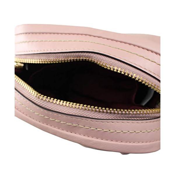 Marc Jacobs – Borsa a tracolla in morbida pelle, 20 x 15 x 7,5 cm, colore: Rosa