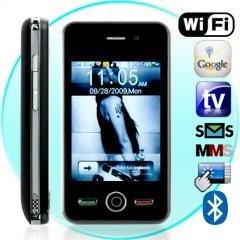 Thunder Quadband Dual Touchscreen Worldphone