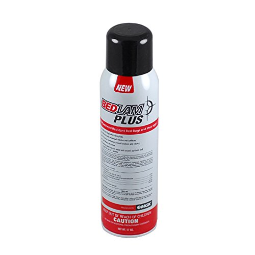 - Bedlam Plus Aerosol 17 oz Quick Knock Down Bed Bugs and Bed Bug Eggs, Ticks and Fleas, Dust Mites, Clothes Moths and Carpet Beetles, chinches de cama