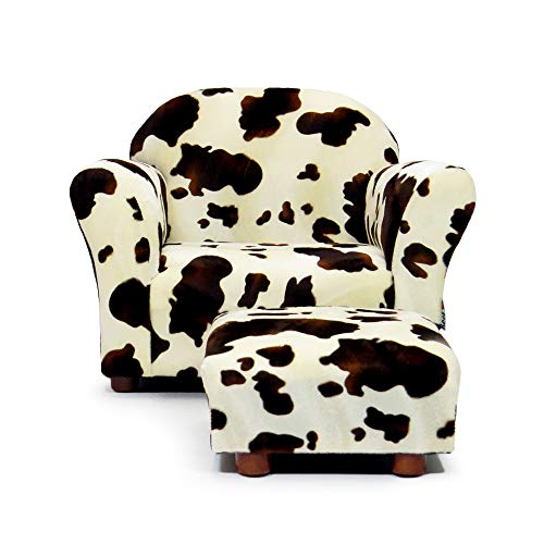 (Keet Roundy Childrens Chair Pony with Ottoman,)