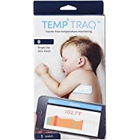 TempTraq TT-100 (OLD MODEL) Smart Thermometer - 24 Hour Wearable Temperatu...