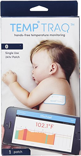 TempTraq TT-100  (OLD MODEL)   Smart Thermometer - 24 Hour Wearable Temperature Tracker with Mobile Alerts