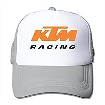 WuliNN KTM Racing Logo Mesh Trucker Hat Outdoor Adjustable Baseball Cap For Unisex