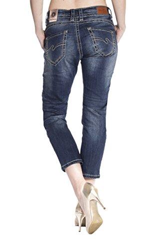 Blue Monkey Jeans - Vaqueros - Ajustado - Básico - para mujer Azul