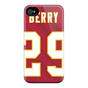 Scratch Protection Cell-phone Hard Cover For Iphone 6 With Support Your Personal Customized Lifelike Kansas City Chiefs Series IanJoeyPatricia