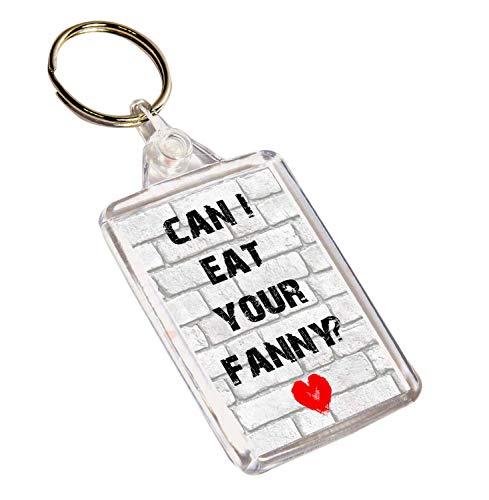 de Puedo divertido grosero Valent regalo San comerte llavero Fanny Akgifts xUqwdT100