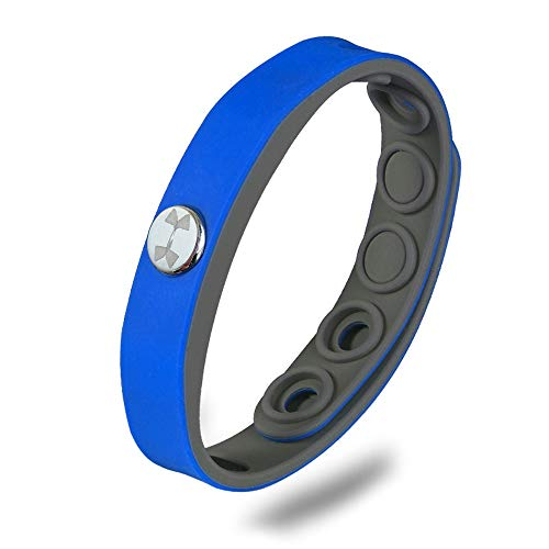 DOT JEWELRY Energy Silicon Power Wristband,Sport Stability Negative Ion Bracelet with Gift Box for Men,1 Pcs